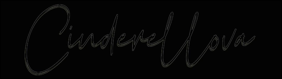 """logo du blog """"Cinderellova"""", qui est un blog ayant fait un article sur le Casa Leya"""