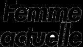 """Image représentant le logo du magazine """"Femme actuelle"""", qui est un magazine ayant fait un article sur le Casa Leya"""