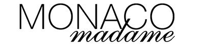 """Image représentant le logo du blog """"Monaco Madame"""", qui est un blog ayant fait un article sur le Casa Leya"""