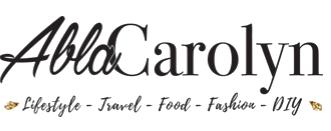 """logo du blog """"AblaCarolyn"""", qui est un blog ayant fait un article sur le Casa Leya"""